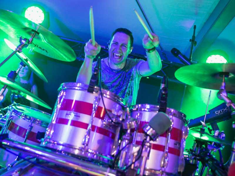 Drummer Manu